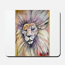 Lion, wildlife, art, Mousepad
