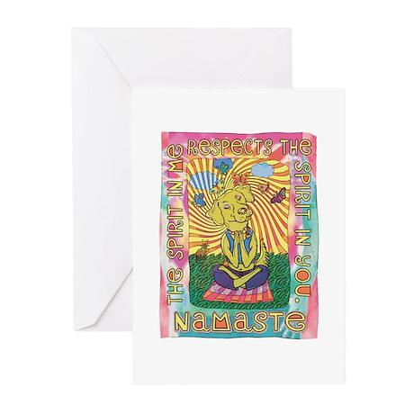 Namaste Dog Yoga Greeting Cards (Pk of 20)