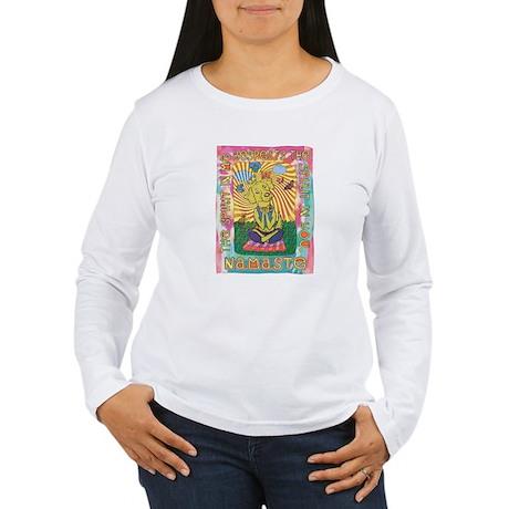 Namaste Dog Yoga Women's Long Sleeve T-Shirt
