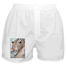 Tiger, wildlife art, Boxer Shorts