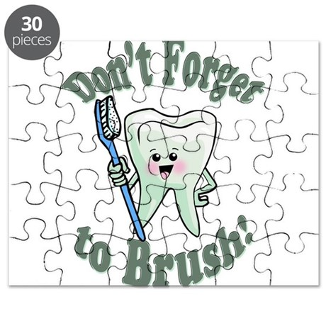 Don't Forget To Brush Puzzle