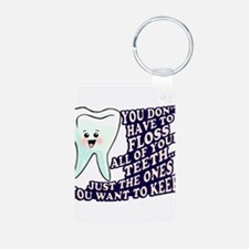 Brush and Floss Keychains