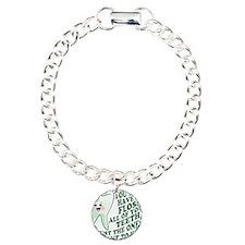Encourage Dental Hygiene Charm Bracelet, One Charm