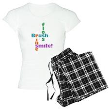 Brush Floss Rinse Smile Pajamas