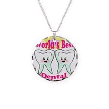 Worlds Best Dental Hygienist Necklace