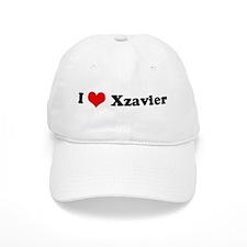 I Love Xzavier Baseball Cap