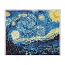 Van Gogh Throw Blanket