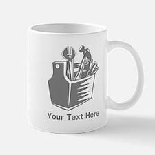 Tool box. Custom Text. Mug