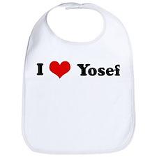 I Love Yosef Bib