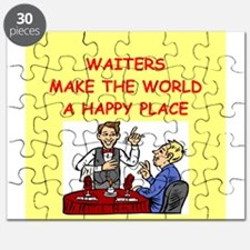 happy waiters Puzzle
