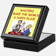 happy waiters Keepsake Box