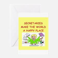 sexretaries Greeting Card