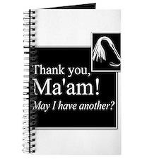Thank You Ma'am Journal