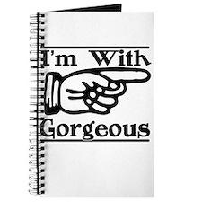 Gorgeous Right (dark) Journal