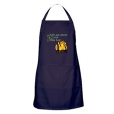 Yule Log Apron (Dark)
