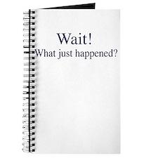 Wait! Journal
