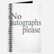 No Autographs Journal