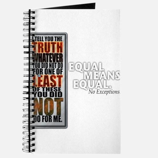 Equal Means Equal Journal
