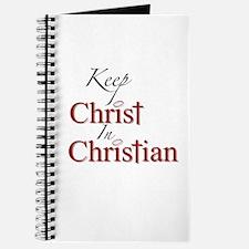 Keep Christ Journal