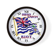 BIOT Flag Wall Clock