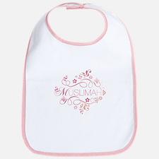 Muslimah Pink Floral Items & Bib
