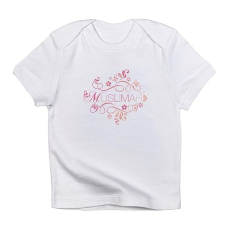 Muslimah Pink Floral Items & Infant T-Shirt