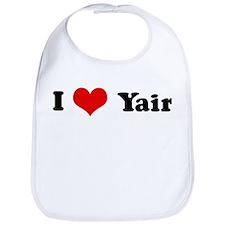 I Love Yair Bib