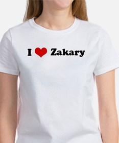 I Love Zakary Women's T-Shirt