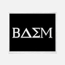 Beta Delta Sigma Mu Throw Blanket