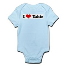 I Love Yahir Infant Creeper
