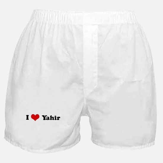I Love Yahir Boxer Shorts