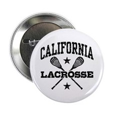 "California Lacrosse 2.25"" Button"