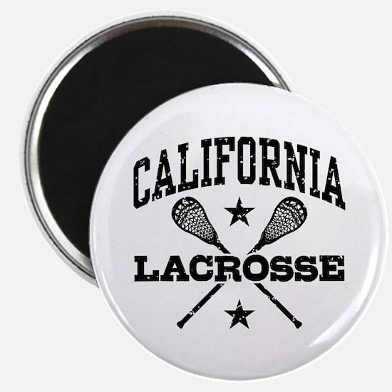 California Lacrosse Magnet