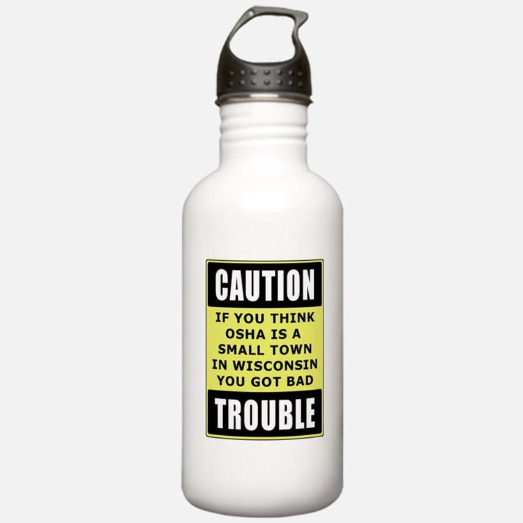 OSHA Trouble Sports Water Bottle
