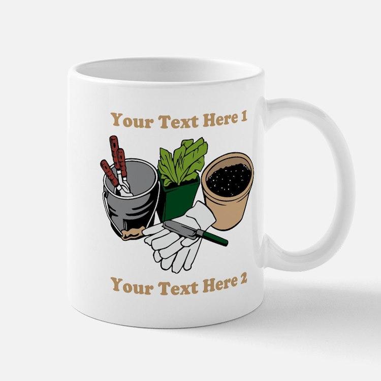 Gardening. Mug