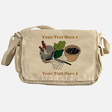 Gardening. Messenger Bag