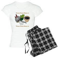Gardening. Pajamas