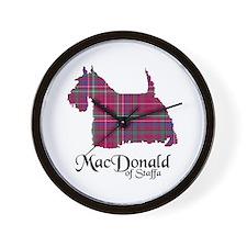 Terrier - MacDonald of Staffa Wall Clock