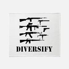 Diversify Throw Blanket