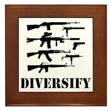 Diversify Framed Tile