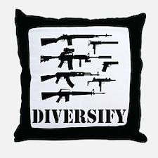 Diversify Throw Pillow