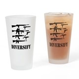 Diversify Pint Glasses