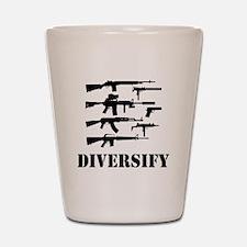 Diversify Shot Glass