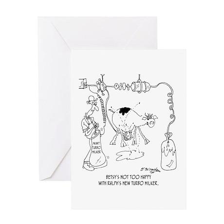 Turbo Milker Greeting Card