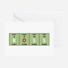 Chemistry Boss Greeting Cards (Pk of 10)