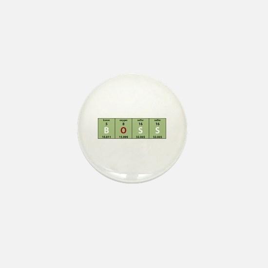 Chemistry Boss Mini Button