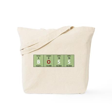 Chemistry Boss Tote Bag