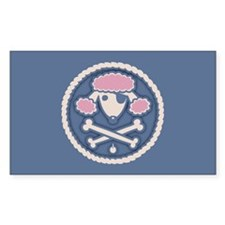 Poodle Pirate III Decal