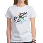 Holiday Hope Prostate Cancer Women's T-Shirt
