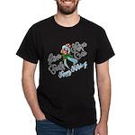 Holiday Hope Prostate Cancer Dark T-Shirt